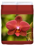 Rusty Orchid Duvet Cover