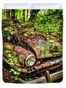 Rusty Plymouth Duvet Cover