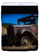 Rusty Postcard Duvet Cover