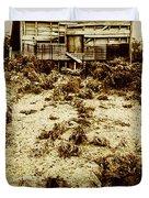 Rusty Rural Ramshackle Duvet Cover