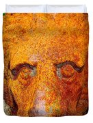 Rusty The Lion Duvet Cover