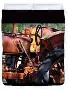 Rusty Tractor Duvet Cover