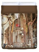 Rusty Treasures Photograph Duvet Cover