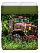 Rusty Warrior Duvet Cover