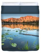 Ruth Lake Lilies Duvet Cover