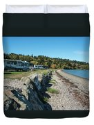 Rvs At The Beach Duvet Cover
