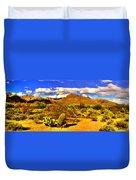 Sabino Canyon Panorama No. 1 Duvet Cover