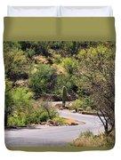 Sabino Canyon Road Duvet Cover