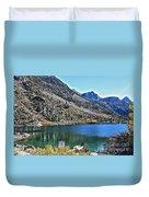 Sabrina Lake California Duvet Cover