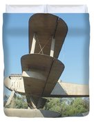 Sacadura Cabral And Gago Coutinho Monument Duvet Cover