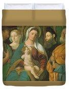 Sacra Conversazione 1520 Duvet Cover