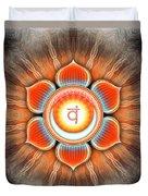 Sacral Chakra - Series 4 Duvet Cover