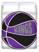 Sacramento Kings Retro Shirt Duvet Cover