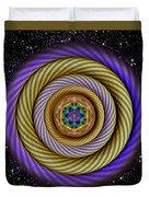 Sacred Geometry 405 Duvet Cover