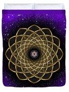 Sacred Geometry 473 Duvet Cover