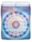 Sacred Geometry 564 Duvet Cover