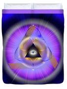 Sacred Geometry 642 Duvet Cover