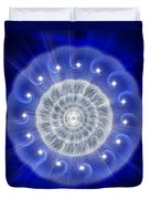 Sacred Geometry 77 Duvet Cover