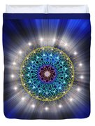 Sacred Geometry 79 Duvet Cover
