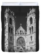 Sacred Heart Cathedral - Newark,new Jersey Duvet Cover