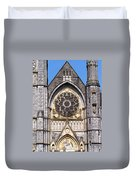 Sacred Heart Church Detail Roscommon Ireland Duvet Cover