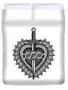 Sacred Heart Duvet Cover