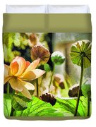 Sacred Lotus Painted Series Duvet Cover