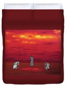Sacred Pool Duvet Cover