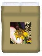 Sacred Sunflower Duvet Cover