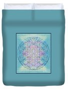 Sacred Symbols Out Of The Void 4b Duvet Cover