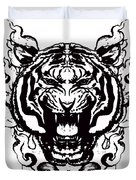 Sacred Tiger Duvet Cover