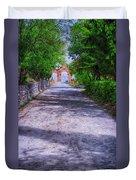 Sacromonte Abbey Entrance Duvet Cover