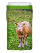 Sad Cow - Painterly Duvet Cover