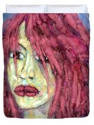 Sad Eyes Duvet Cover