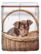 Sad Puppy Duvet Cover