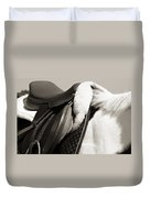 Saddle And Softness Duvet Cover