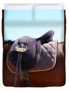 Saddle In  Duvet Cover