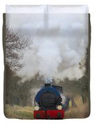 Saddle-tank Locomotive Duvet Cover