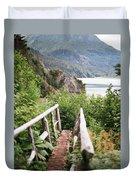 Saddle Trail Bridge Duvet Cover