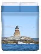 Saddleback Ledge Light Duvet Cover