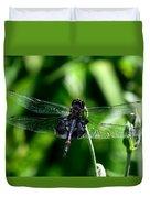 Saddlebag Dragonfly Duvet Cover