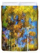 Safari Mosaic Abstract Art Duvet Cover