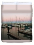 Safe In Harbor Duvet Cover