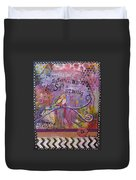 Safe To Be Soft And Strong Duvet Cover