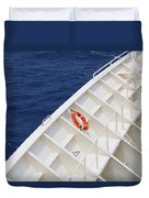 Safety At Sea Duvet Cover