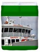 Safety Bell Duvet Cover