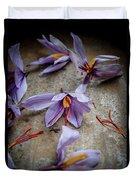 Saffron Flower Duvet Cover