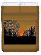 Saffron Sunset Duvet Cover