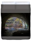 Sagamore Creek Tunnel Exit Interior Duvet Cover