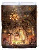 Sage Chapel II Duvet Cover